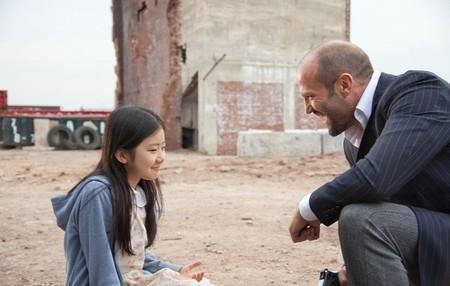 Jason Statham y Catherine Chan en