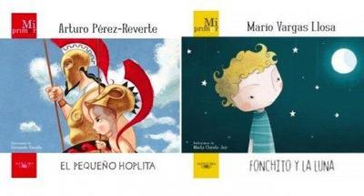 Pérez-Reverte y Vargas Llosa incursionan en la Literatura Infantil