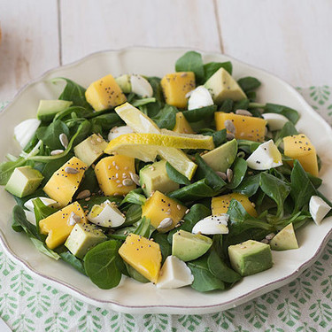 25 ensaladas frescas y muy apetecibles para estos días de calor que puedes hacer fácil y rápido