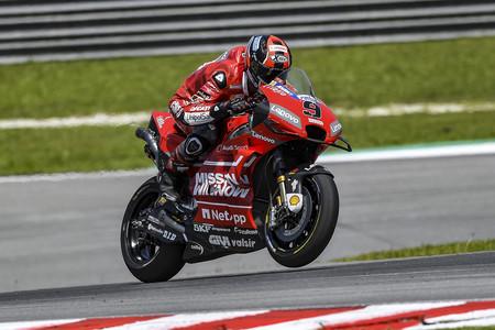 Las Ducati marcan territorio en el ultimo día de test de MotoGP en Malasia con Danilo Petrucci dominando