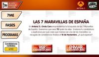 Elige tú mismo las 7 maravillas de España