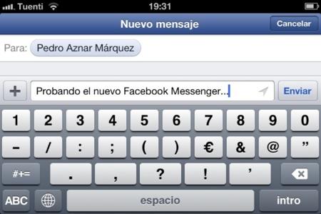 Facebook Messenger para iOS se actualiza heredando las bondades de la última versión de Facebook