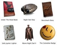 Iconos de Watchmen para Mac OS X