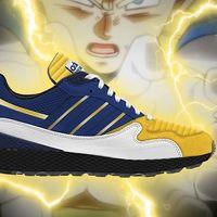 Así lucen los ocho modelos de zapatillas inspiradas en los personajes de Dragon Ball