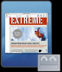 iScroll2: Navegación ampliada en el trackpad para los PowerBooks y los iBooks anteriores al 2005