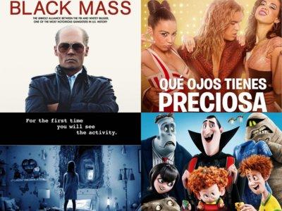 Estrenos de cine | 23 de octubre | Johnny Depp, De la Iglesia, monstruos y fantasmas