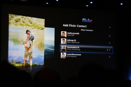 Visualización galerías de flickr en el AppleTV