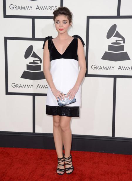 Emilio Pucci Sarah Hyland Grammy 2014