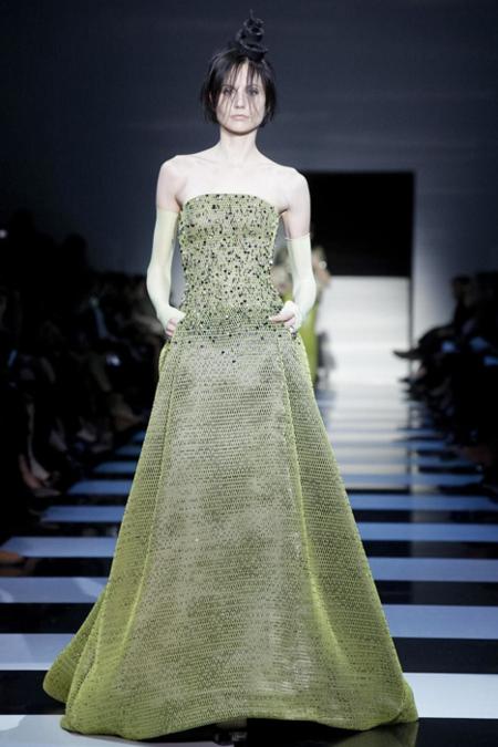 Giorgio Armani Privé vestido
