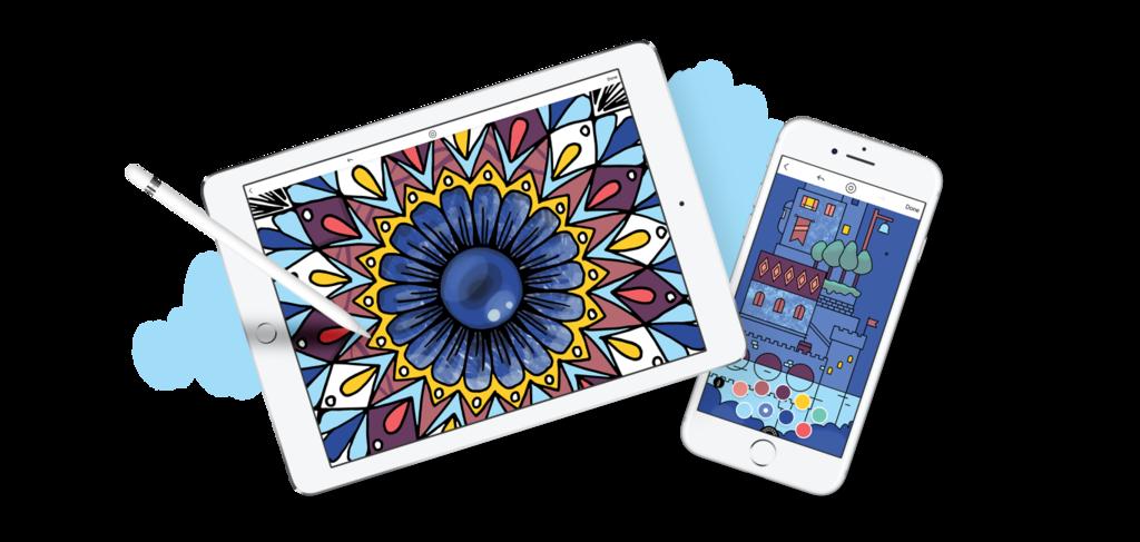 Lake renueva su apariencia: estas son las novedades de la apps de iOS™ para colorear y liberarte del estrés