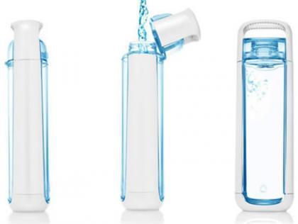 KOR One, una elegante botella para abandonar el agua embotellada