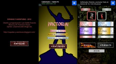Espadas y Aventuras, sencillo y directo juego de rol patrio en tu Android
