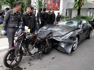 Jóvenes ricos con Ferrari generan un problema importante en Asia