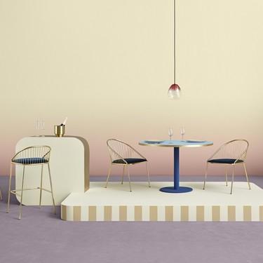 Agora: sillas y taburetes para crear una atmósfera sofisticada y contemporánea