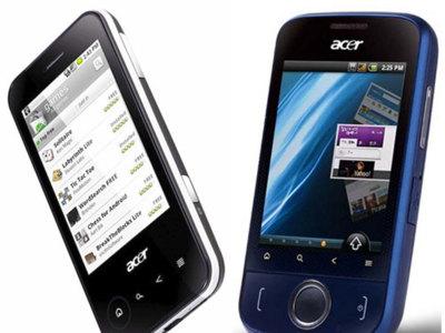 Acer beTouch E400 y E110, nueva apuesta de Acer con Android