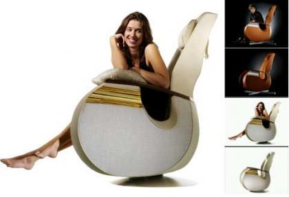 Lussedia Chair: tu propio trono