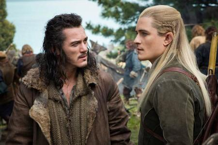 Luke Evans y Orlando Bloom