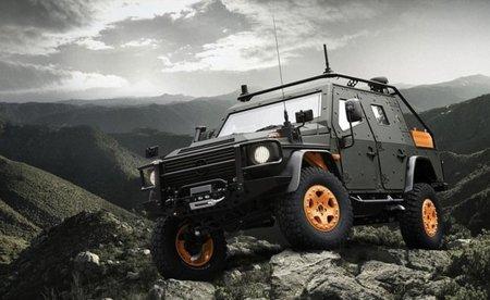 Mercedes-Benz G-Wagon LAPV 6.X, no lo podrás parar ni a tiros
