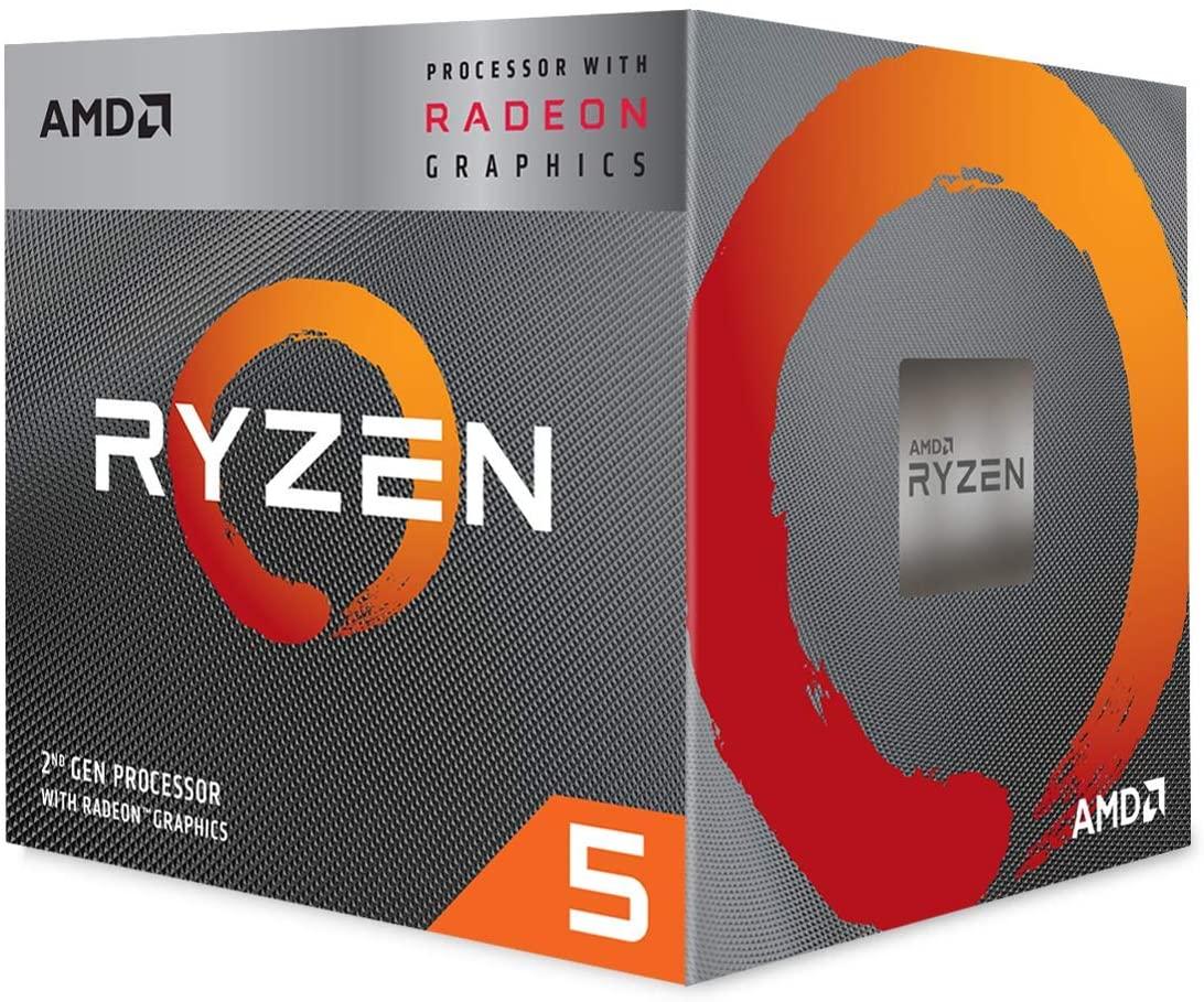 Procesador AMD RYZEN 5 3400G 3.70Ghz 4 Cores Socket AM4
