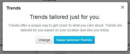 Tres razones por las que los Trending Topic personalizados de Twitter son un error