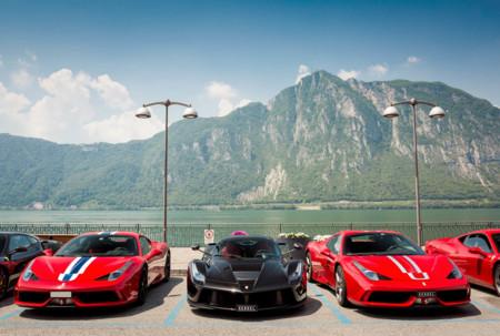 Cars and Coffee Ferrari LaFerrari y Speciale Kessel