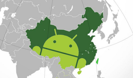 Android se hace con el 90% de la cuota de mercado en China