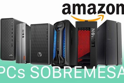 HP, Lenovo o Medion: PCs de sobremesa para jugar o trabajar con los que adelantarte al Black Friday en Amazon