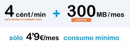 Happy Móvil se atreve con una tarifa con 300 Mb gratis a cambio de 4.9 euros de consumo mínimo