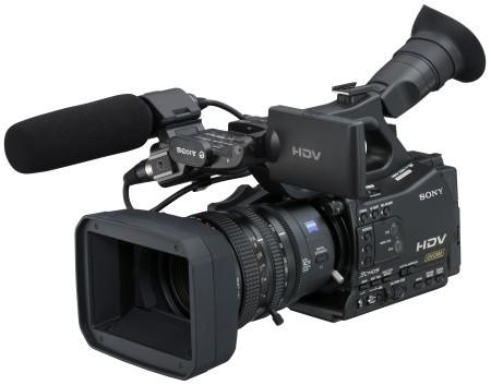 Nuevas videocámaras Pro HDV de Sony