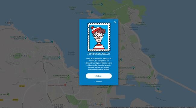 Todo el mundo a descubrir dónde está Wally en Google Maps mientras conocemos sitios nuevos