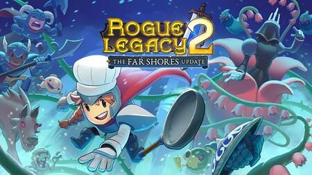 Rogue Legacy 2 triplica su contenido con The Far Shores, su primera actualización gratuita