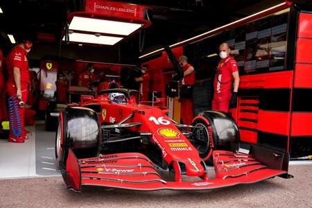 La pifia de Ferrari que le costó ganar en Mónaco: no cambió el palier izquierdo dañado del coche de Charles Leclerc