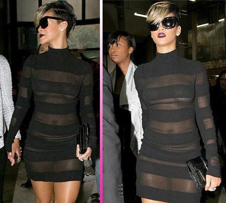 Rihanna y sus transparencias, está todo visto