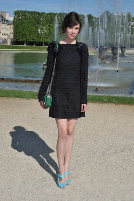 Chanel Crucero 2013 Front Row
