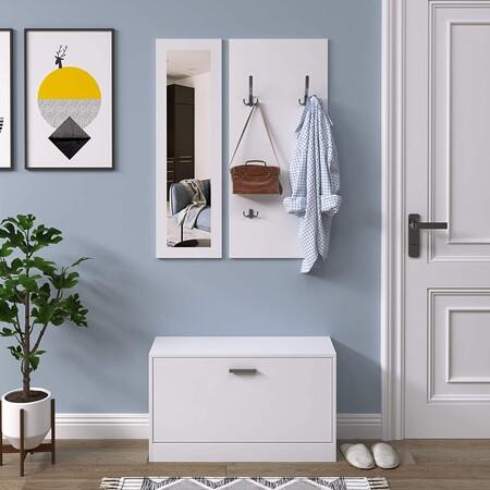 Dale un nuevo aire a tu recibidor con estos muebles que cuestan menos de 100 euros