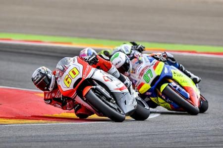 Julito Simón abandona el GP de Malasia con hundimiento de dos vértebras, y un pie fuera de Moto2