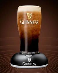 Guinness Surger, con la espuma como corresponde