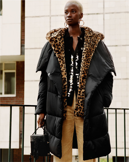 Abrigo mas de moda este invierno
