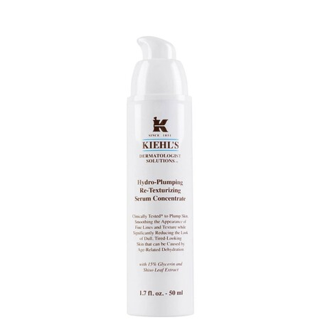 Kiehl S Hydro Plumping Re Texturizing Serum Concentrate