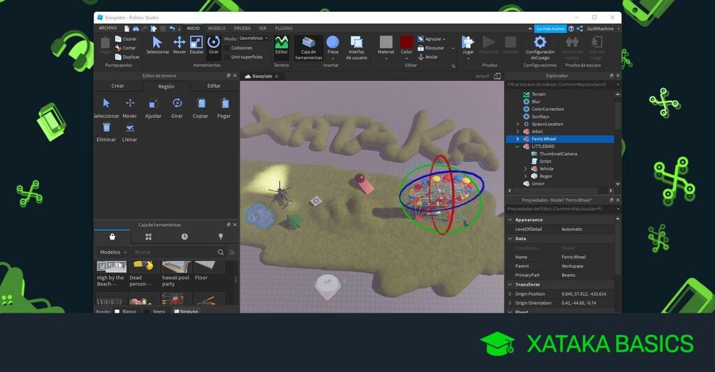 Cómo crear tu propio mapa en Roblox: conceptos básicos y primeros pasos para crear tu propio juego