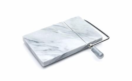 Cortador de queso de mármol