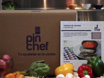 PinChef, otro servicio que lleva los ingredientes a tu casa y te enseña a cocinarlos