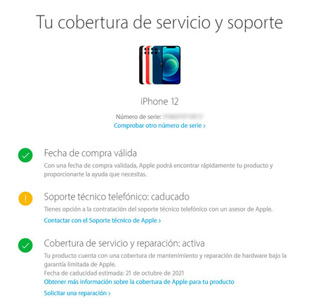 Número de serie iPhone