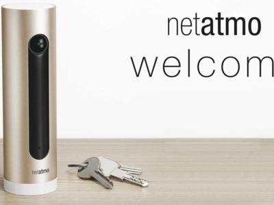 La cámara Netatmo Welcome añade compatibilidad con Dropbox y Tags para mejorar la vigilancia