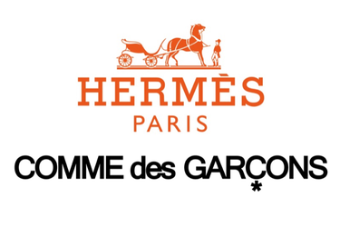 Hermés le da un nuevo aire a sus carrés con una colaboración junto a Comme des Garçons