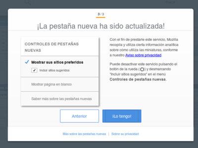 La publicidad llega a la beta de Firefox 40, ya están aquí las Suggested Tiles