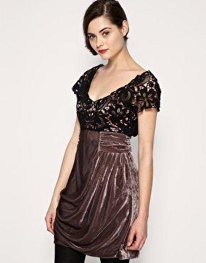 vestidos nochevieja: vestido asos