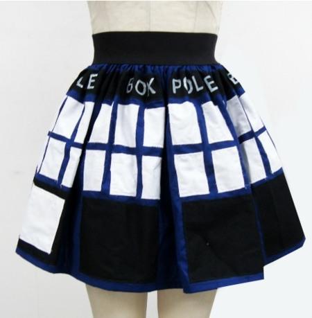 La falda Tardis para amantes de Doctor Who