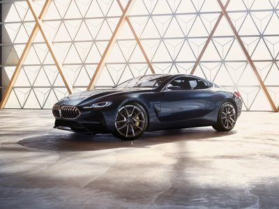 BMW Serie 8 Concept anticipa un coupé muy sensual para 2018