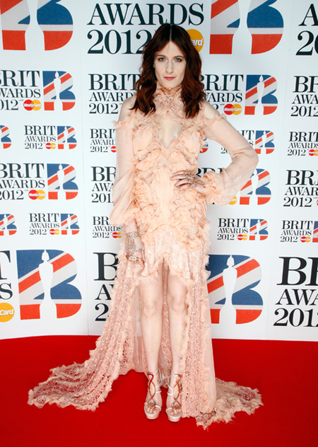 Florence Welch en los Brit Awards